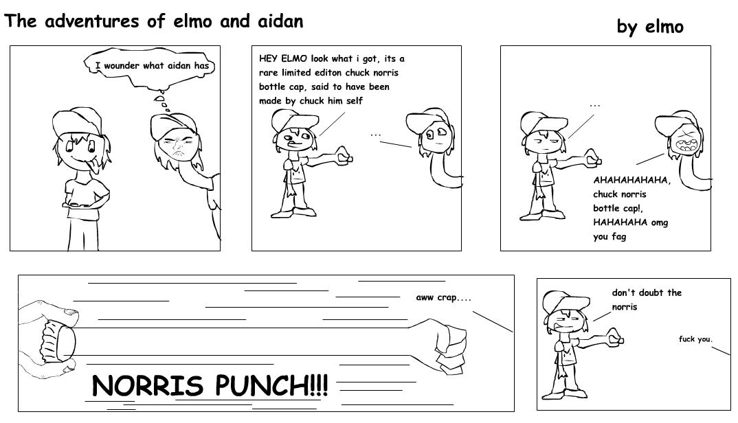 the adventures of elmo and aidan 5