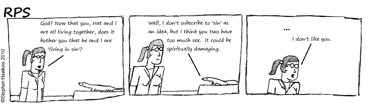 #12 - Rita vs. God