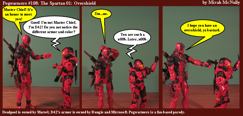 108. The Spartan 01: Overshield