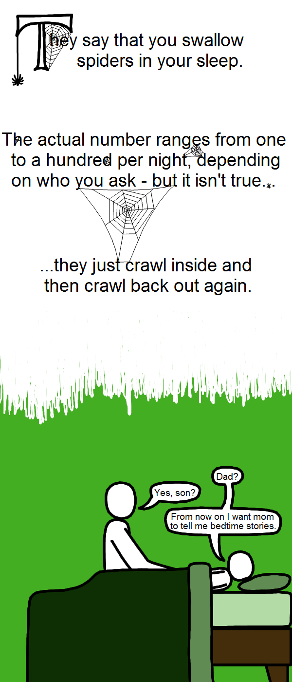 Spider Swallowing