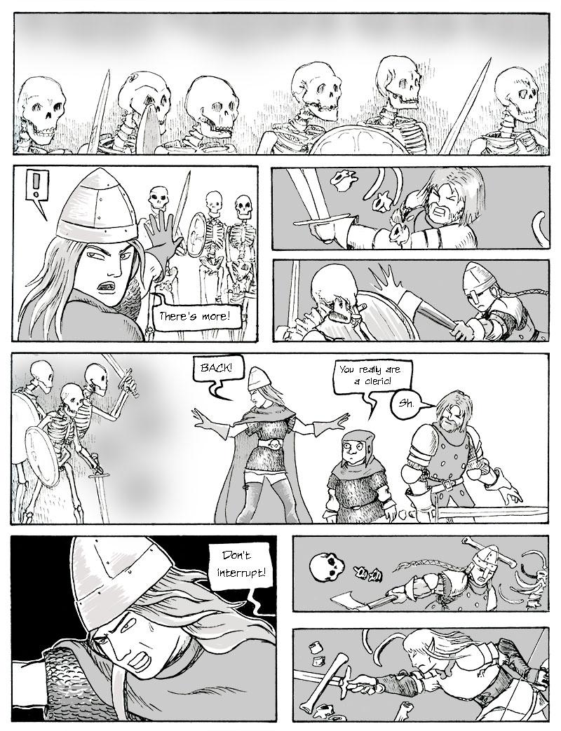Illerya Successfully Turns Undead p.2