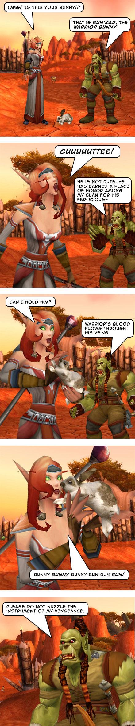 Part 4: Warlock, Bunny. Bunny, Warlock.