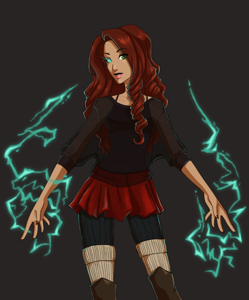 Character Design: Natalia