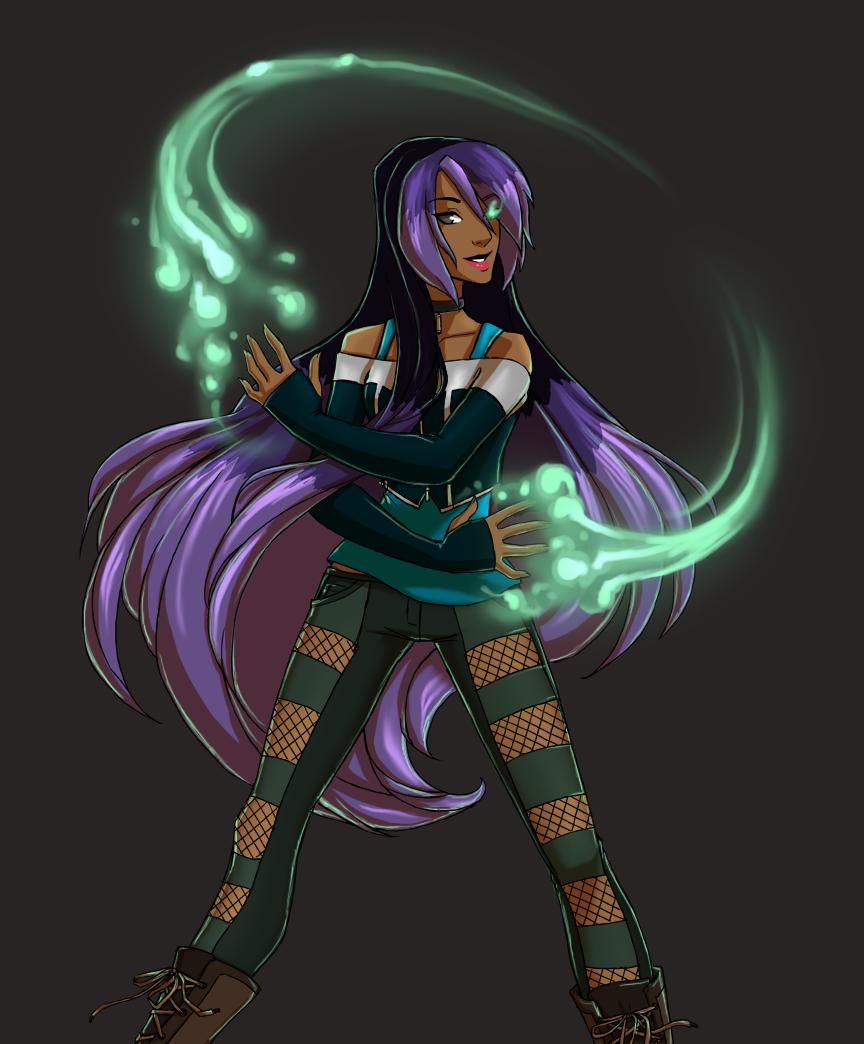 Character Design: Inessa
