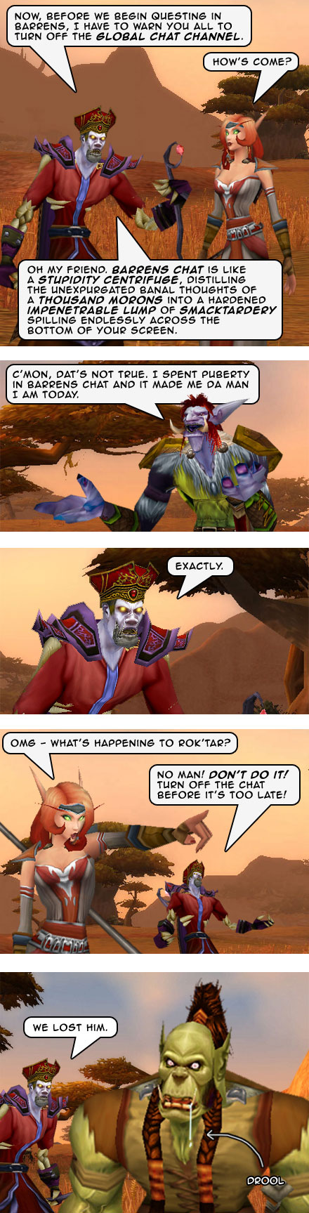 Part 4: Barrens Chat