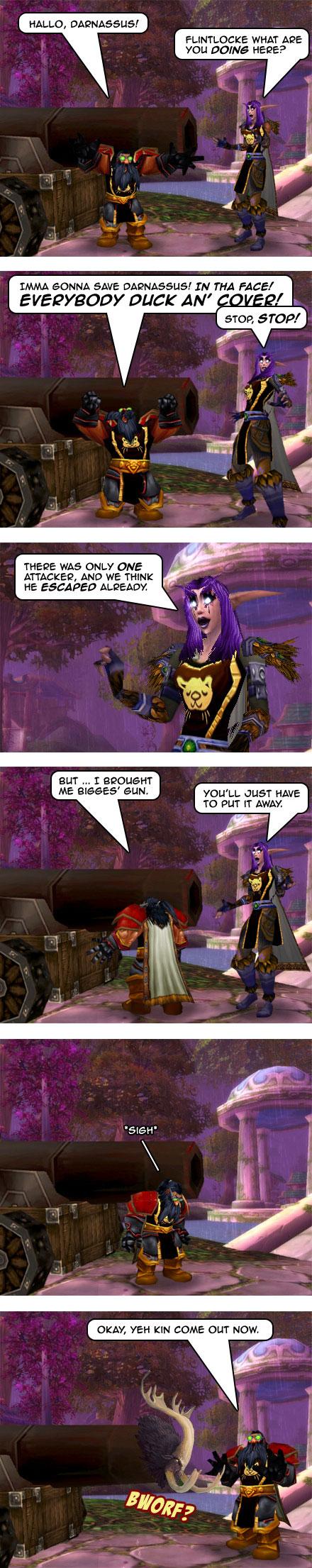 Part 4: Woe to Darnassus