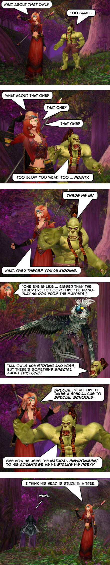 Part 13: Good Owl Hunting