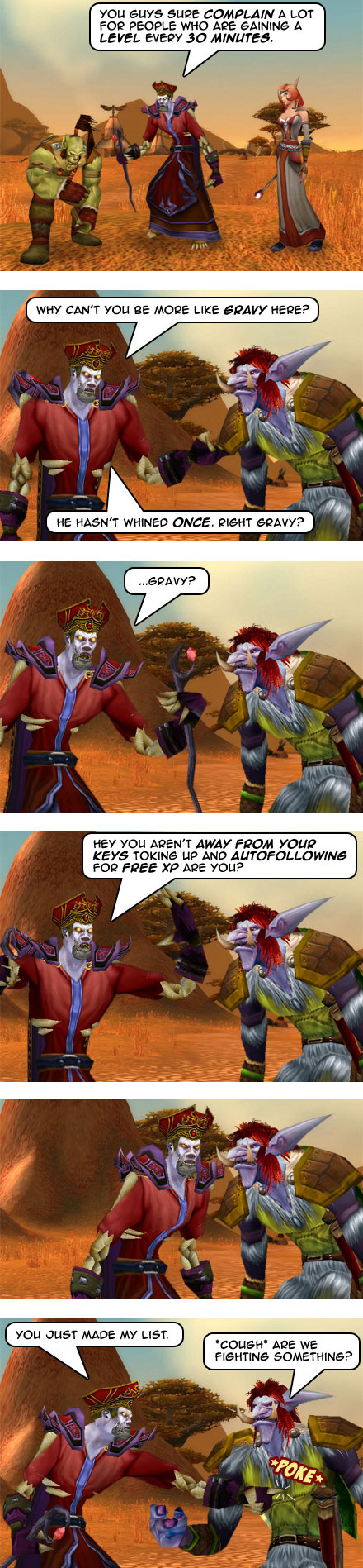 Part 8: Earning XP the Gravy Way