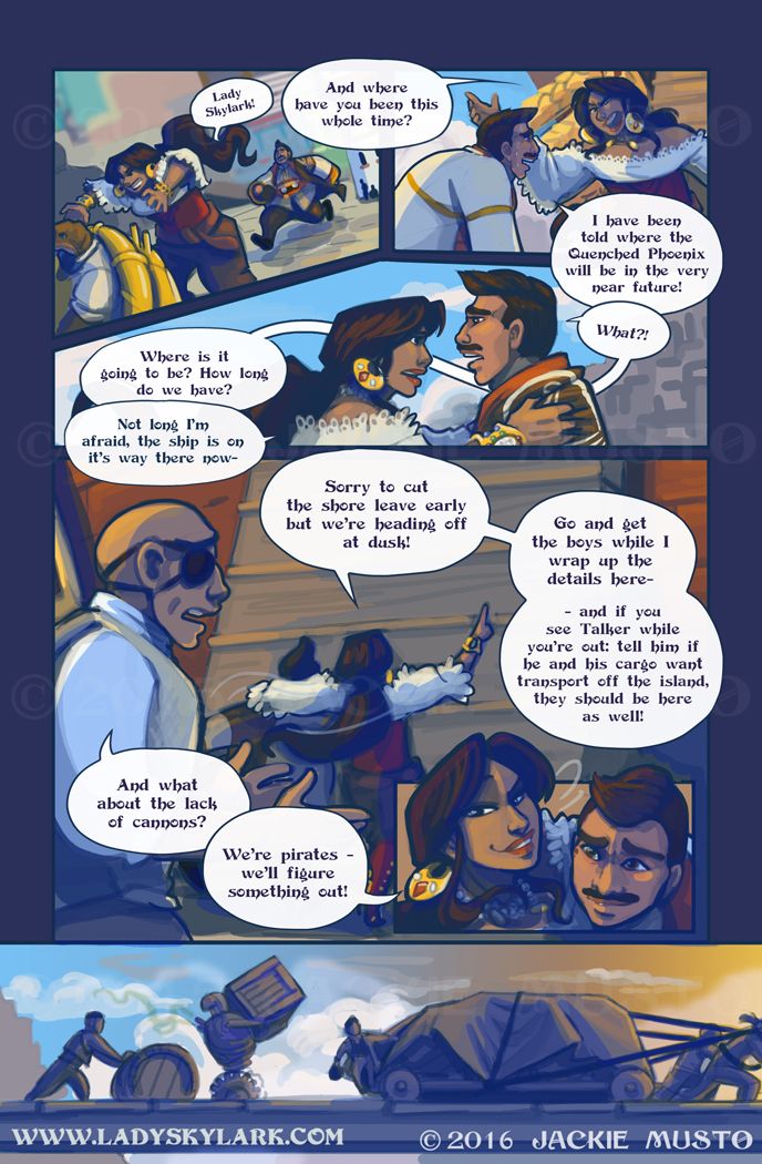 Lady Skylark and the Queen's Treasure - Page 196
