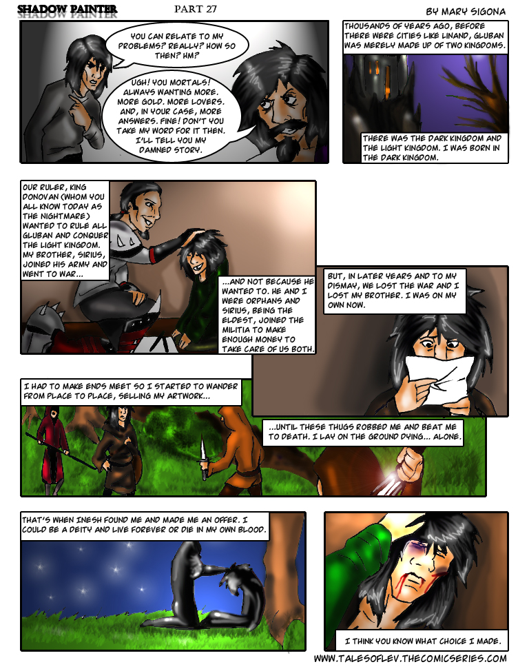 Shadow Painter: Part 27