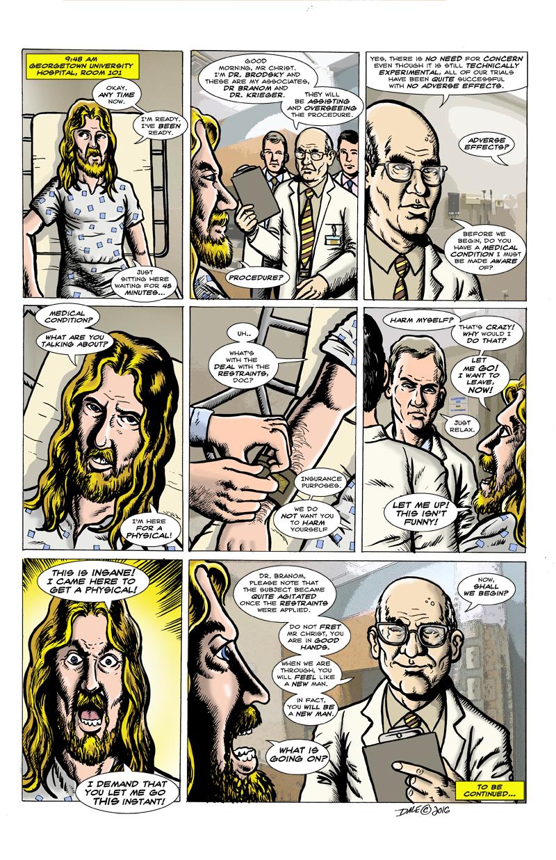 Jesus, Interrupted!