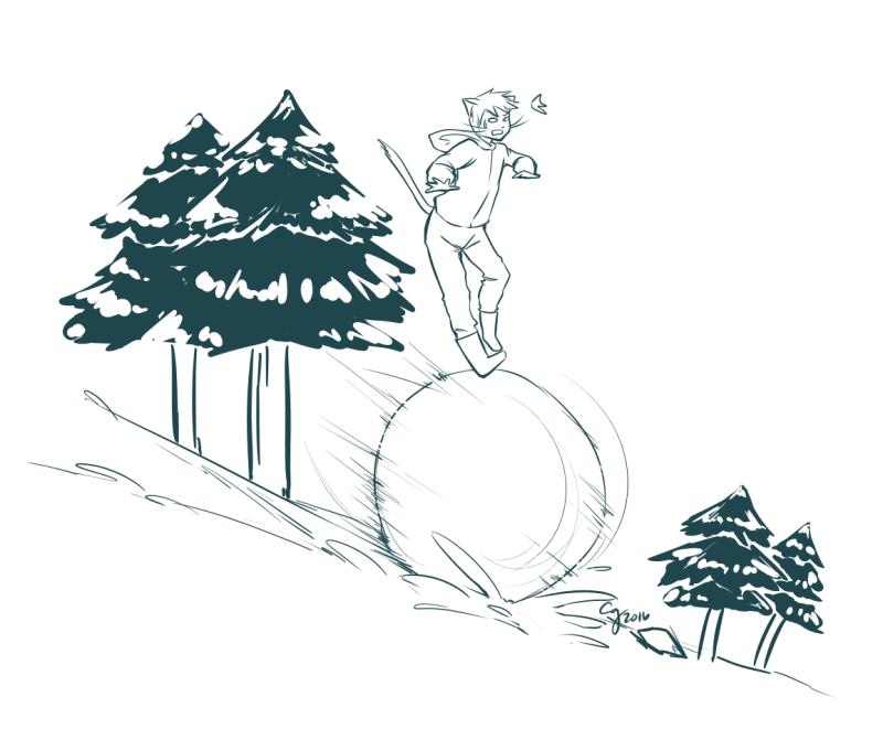 BCW: Winter P4 Doodle