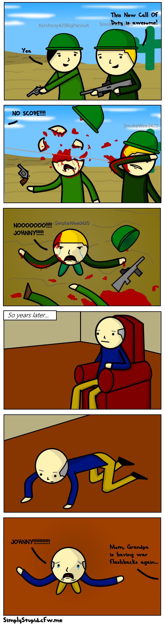 War Flashbacks