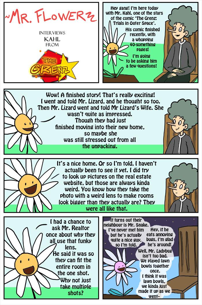 Mr Flower Interviews Kahl