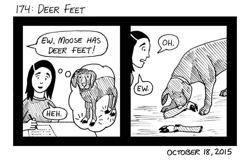 Deer Feet