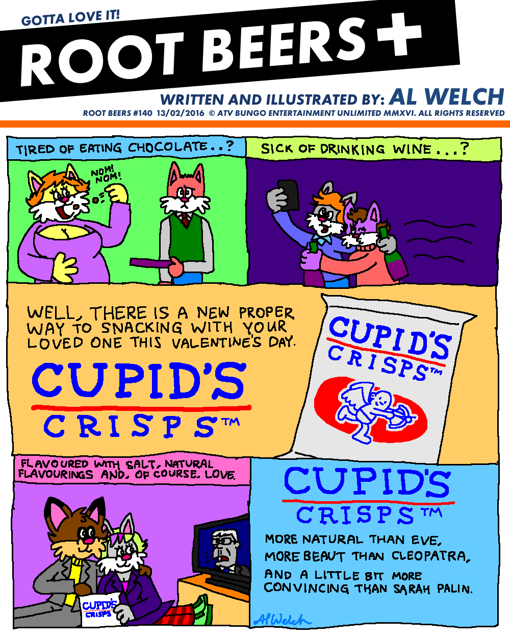 Root Beers #140: Valentine for Snacks!