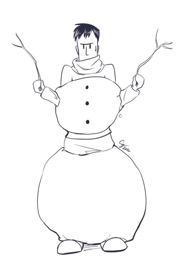 BCW: Winter Bes Doodle