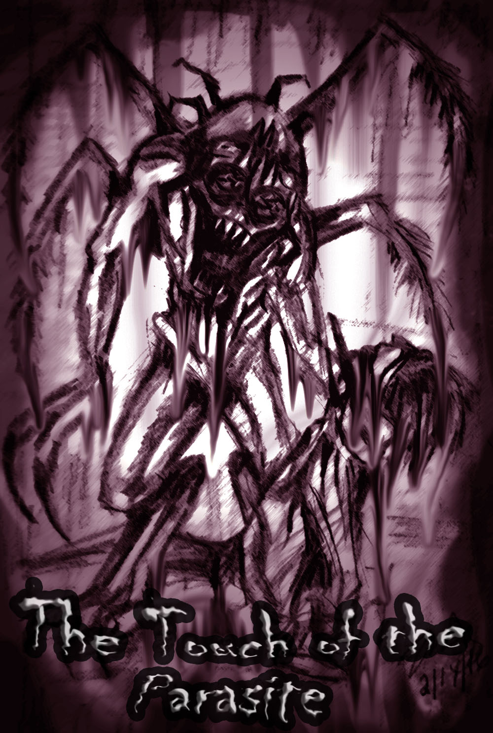 Touch of the Parasite: Cover