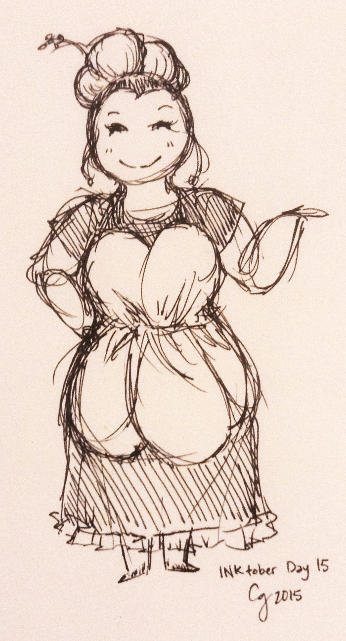 BCW: Auntie Lili Sketch