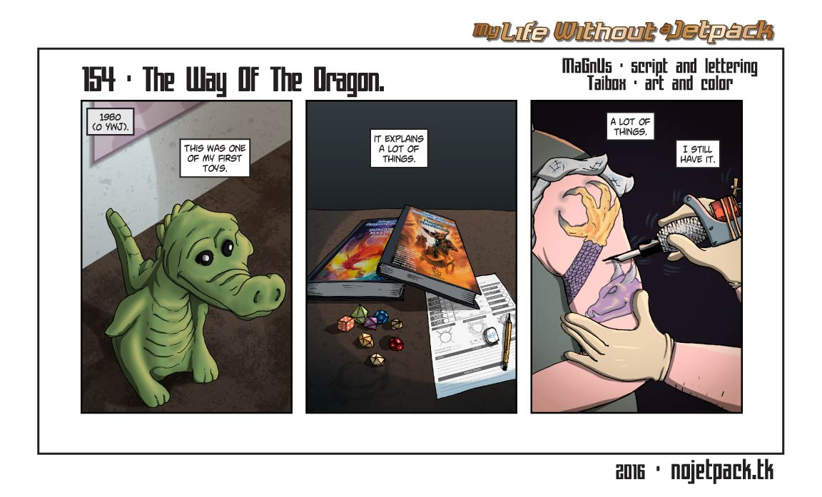 154 - The Way Of The Dragon.