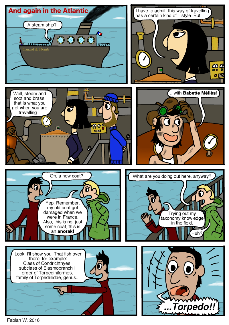 Warning: This comic was written by a nerd.