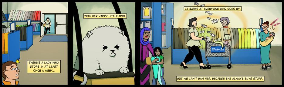 125: White Dog Privilege