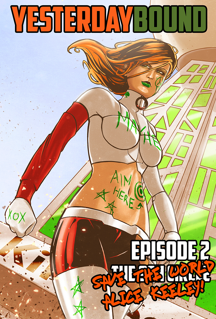Episode 2.2 - Save the World Alice Keeley