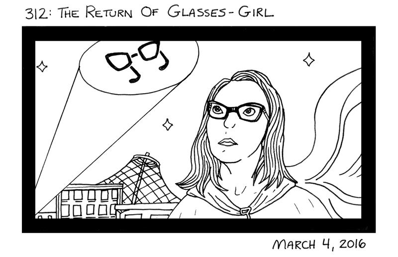The Return of Glasses-Girl