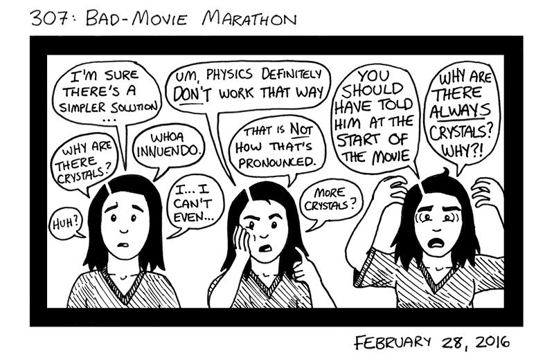 Bad-Movie Marathon