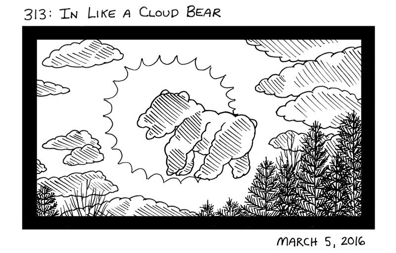 In Like A Cloud Bear