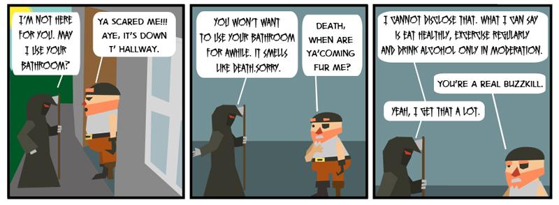 Death at t' Door