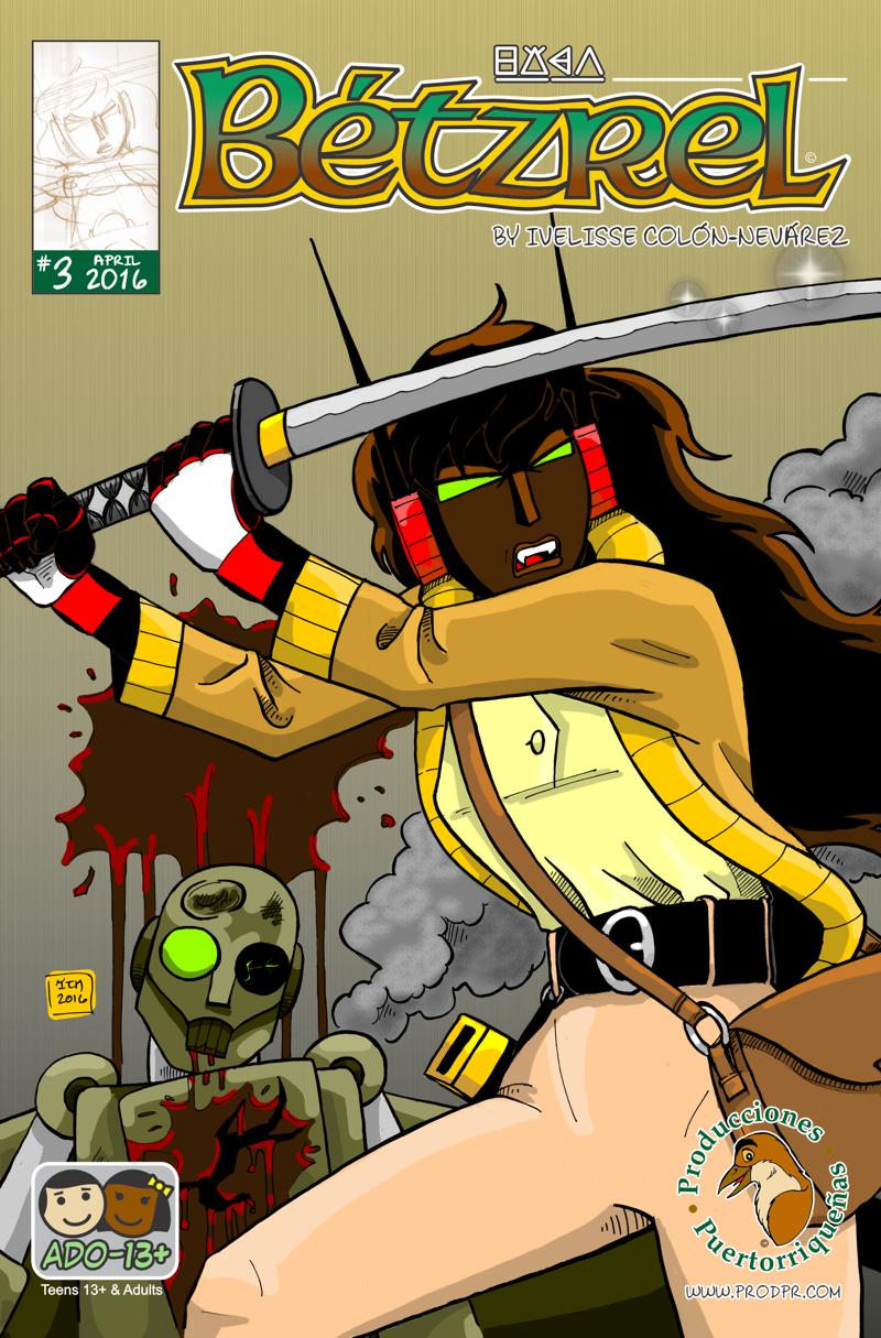 Betzrel #3 Cover