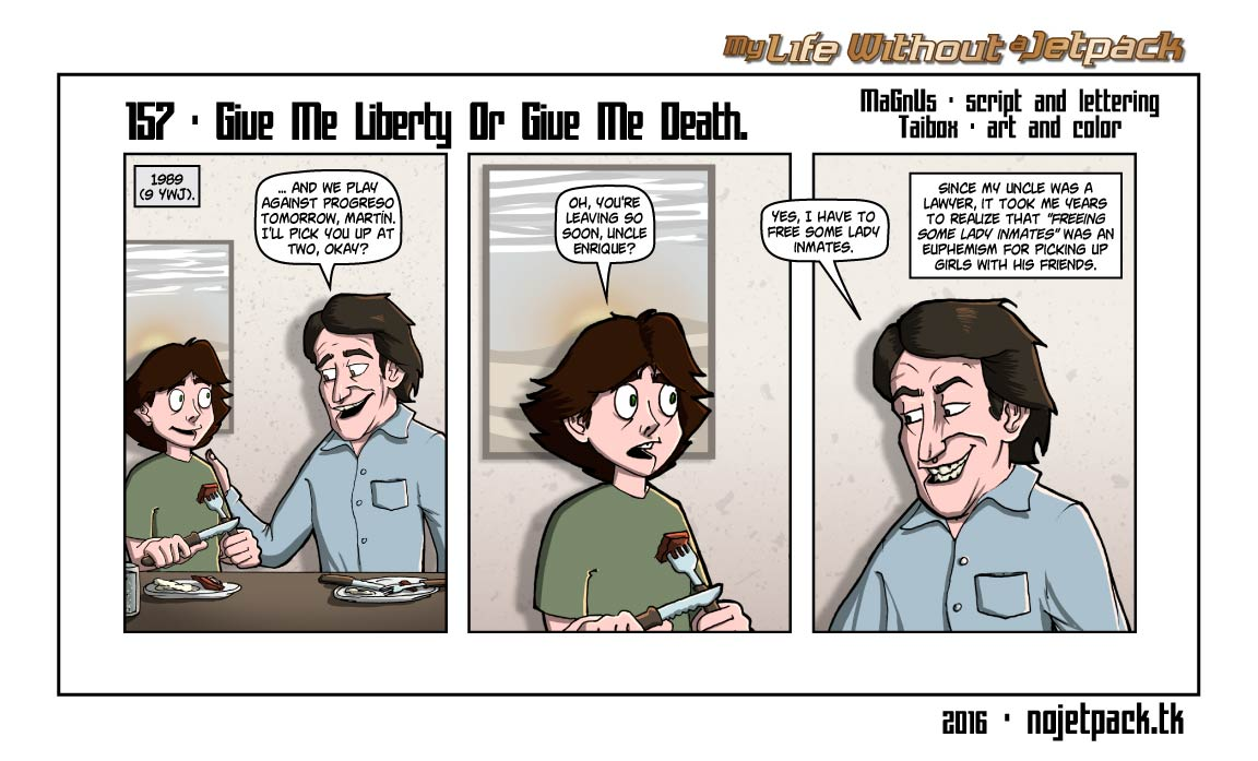 157 - Give Me Freedom Or Give Me Death.