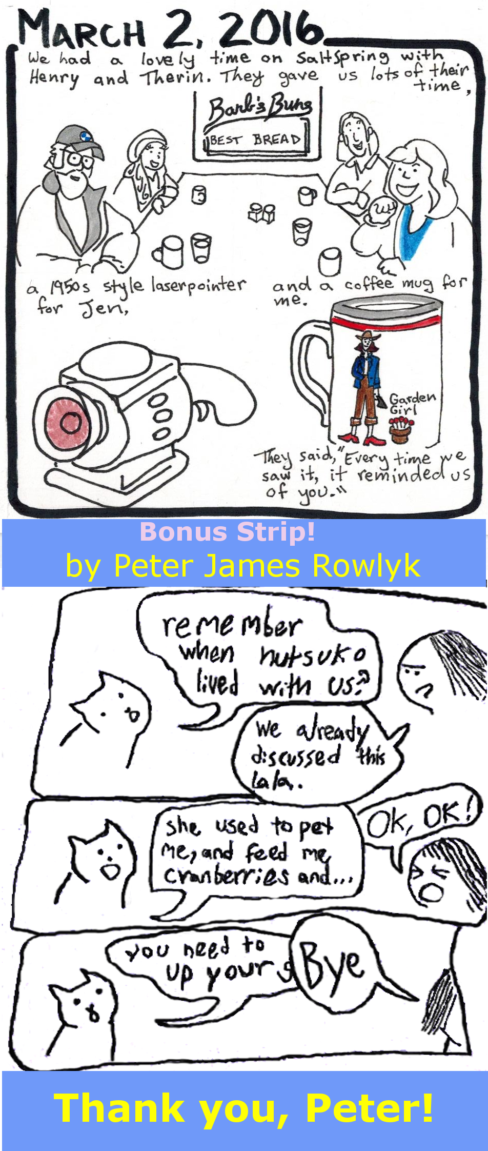 Henry and Therin + Bonus Strip from Peter
