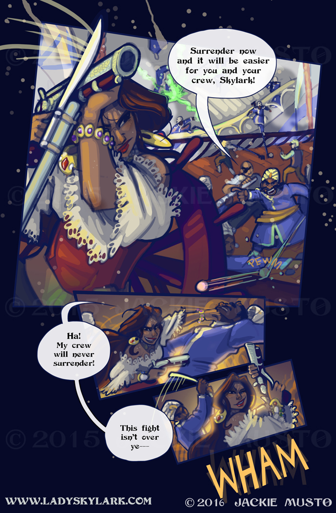 Lady Skylark and the Queen's Treasure - Page 211