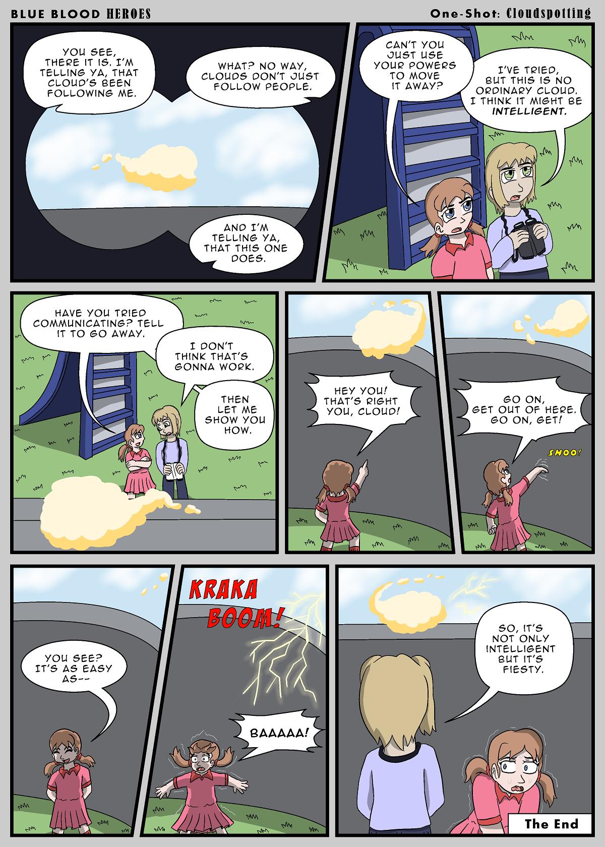 True Blue Filler: Cloudspotting