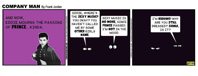 Eddie mourns. 4/29/16
