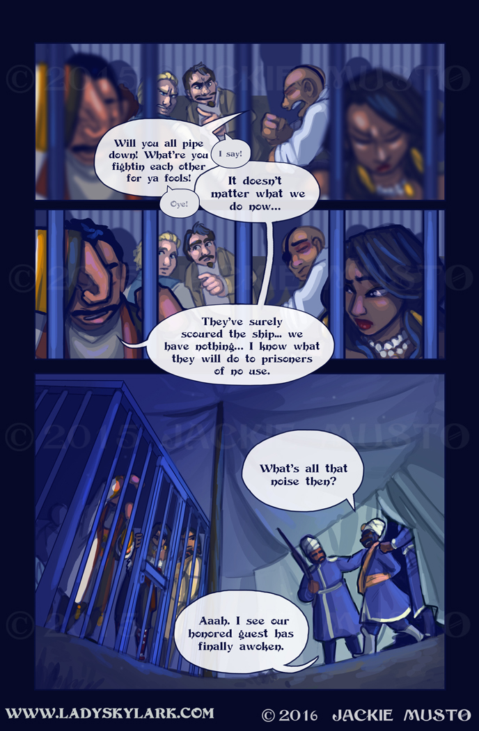 Lady Skylark and the Queen's Treasure - Page 214