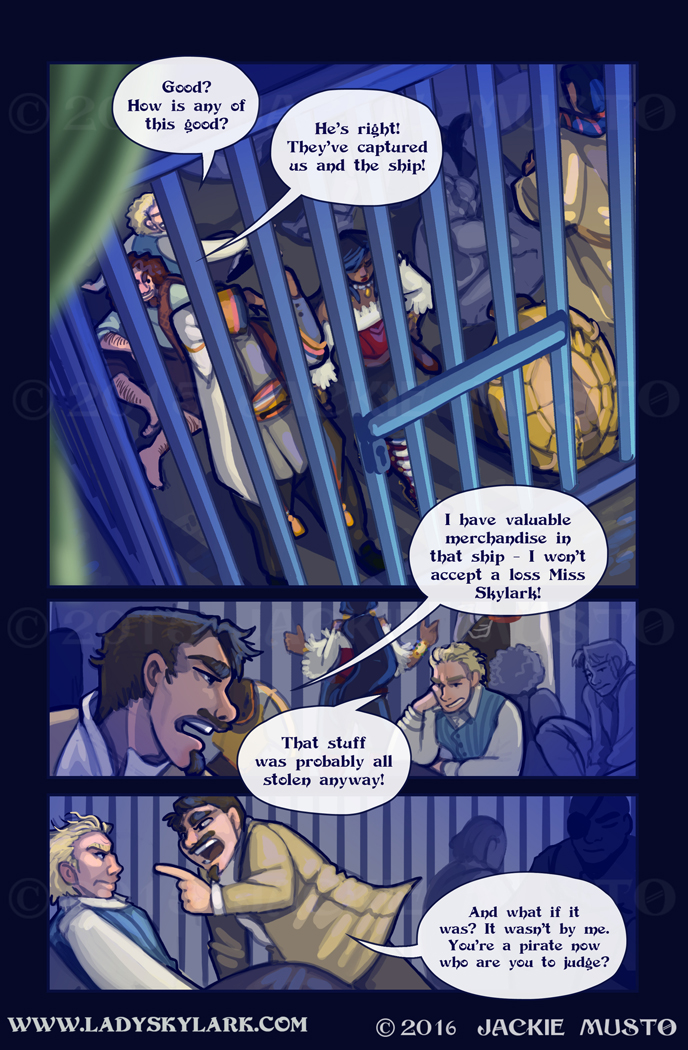 Lady Skylark and the Queen's Treasure - Page 213