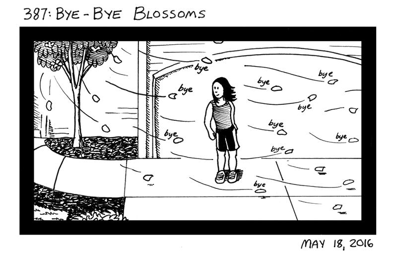 Bye-Bye Blossoms