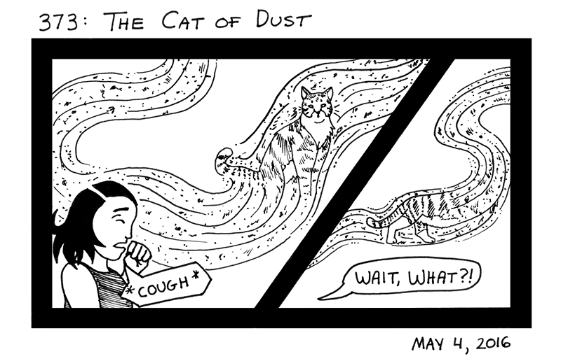 The Cat Of Dust