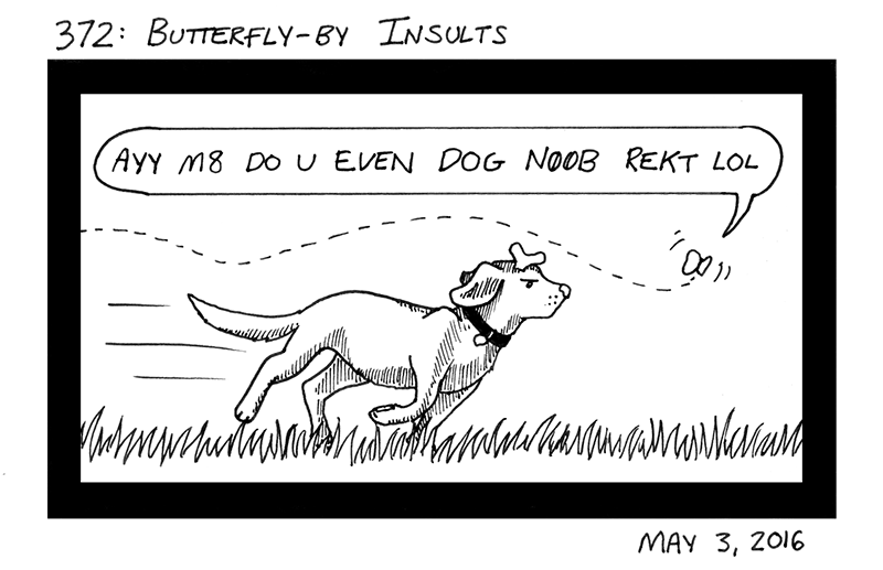 Butterfly-By Insults