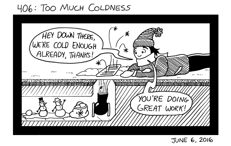 Too Much Coldness