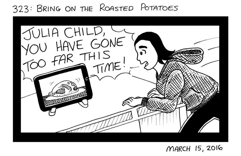 Bring On The Roasted Potatoes