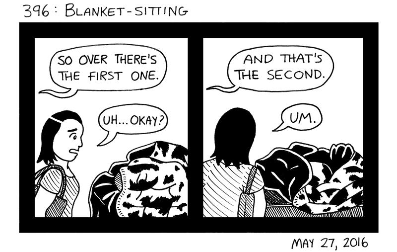 Blanket-Sitting