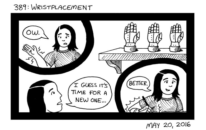 Wristplacement