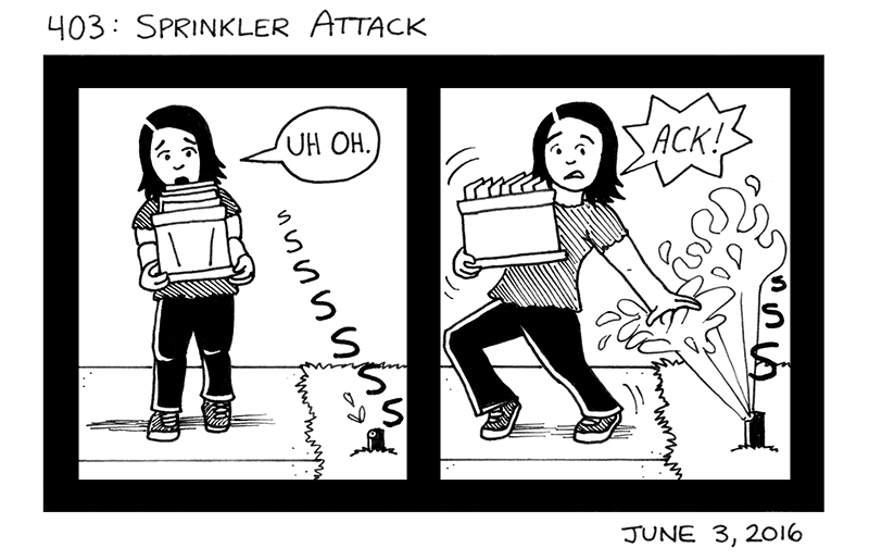 Sprinkler Attack