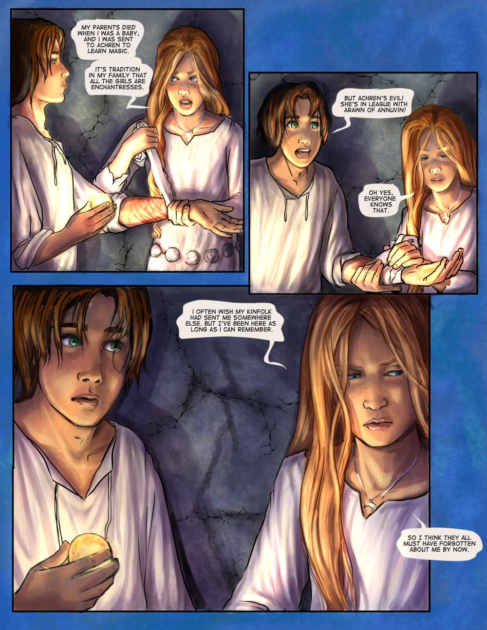 Chapter Six: page Thirteen