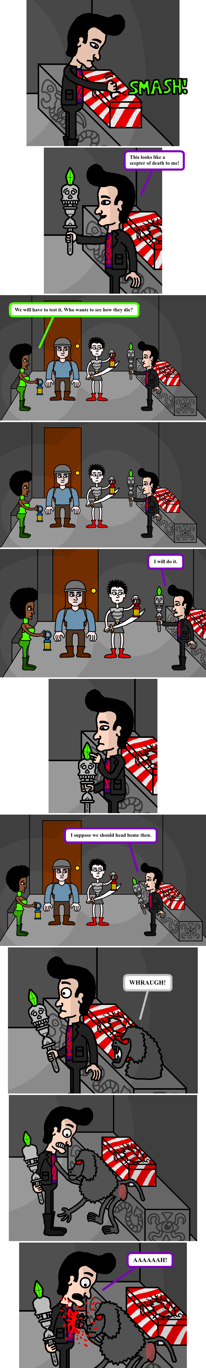 The Scepter of Death 17