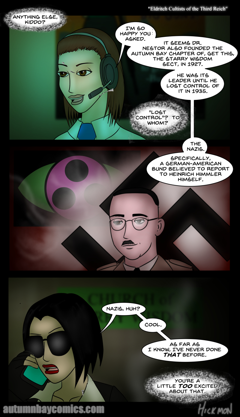 Eldritch Cultists of the Third Reich
